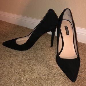 Sole society black pumps size 7, barely worn
